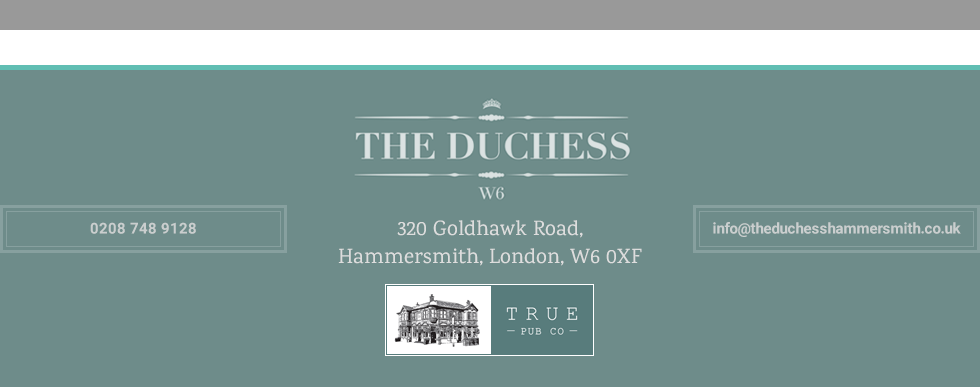 Thanks for visiting The Duchess W6